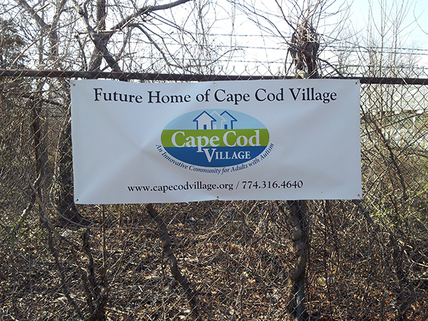 autism awareness and raising the roof on cape cod village in the not too distant future