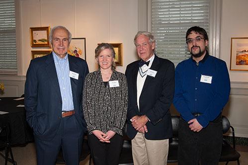 Advisory Board members Morton Dean, Carey Raimo, Bob Hessler and Nate McDonald