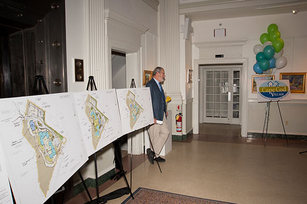 Co-Founder and President Bob Jones with Concept Sketches