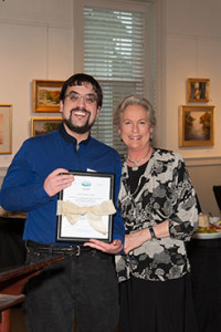 Advisory Board member Nathan McDonald, with Co-Founder and Board Member Lauren Jones, is named The Unsung Hero